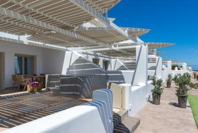 Superior Suites balconies.