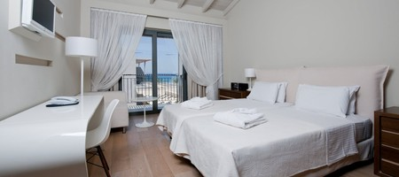 Double Room with Side Sea View