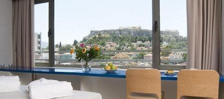 Triple Room with Acropolis View