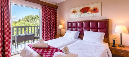 Double Room Standard   Mountain or Pool View