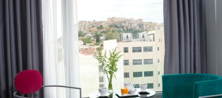 Classic Double Room with Acropolis View