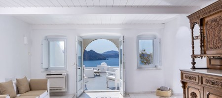 Grande Suite (2 Bedrooms) Plunge Pool Caldera Sea View