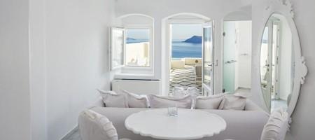 Honeymoon Suite Plunge Pool Caldera Sea View
