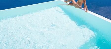 Infinity Pool Suite Caldera Sea View