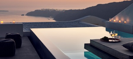 Cavo Tagoo Diamond Suite with Pool and Caldera Sunset View