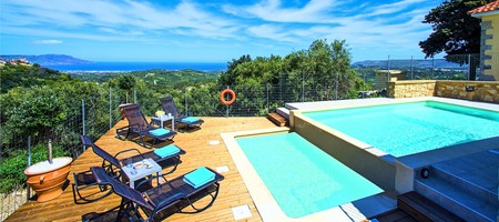 Cretan View Villa - Five Bedroom Villa