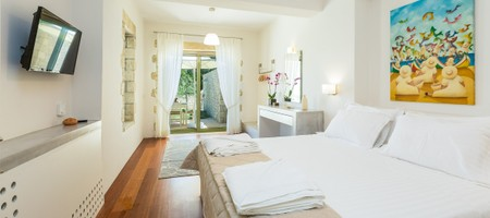 Villa 4 Bedrooms Sea View with Jetted Tub (Maria & Konstantina)
