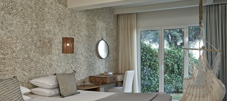 Suite with Private Pool Aegean Sea View