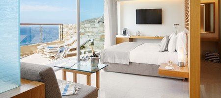 Double Deluxe Room Sea View  Outdoor Jacuzzi