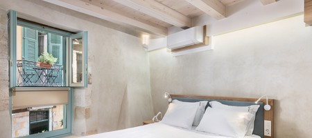 Deluxe Double Room With View at Aggelou (no. 8)