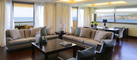 Presidential Suite Garden & Sea View