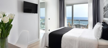 Panoramic Sea View Room with Double Bed