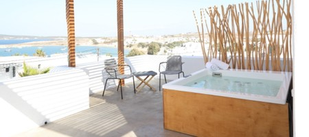 Jacuzzi Suite Panoramic Sea View