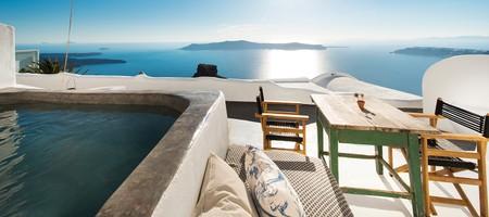 Utopia | Exclusive Cave Suite with Indoor & Outdoor Plunge Pool & Caldera View