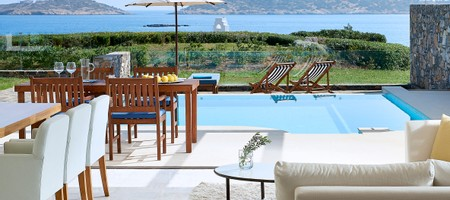 Club Suite 3 Bedroom Private Pool Seafront - Aphrodite's House