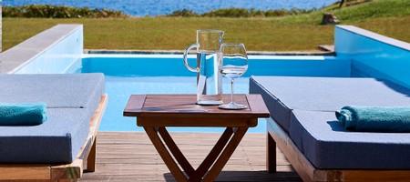 Classic Studio Private Pool Sea View