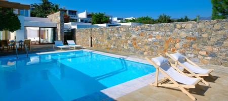 Club Suite 2Bedroom Private Pool Seafront – Poseidon House / Apollon