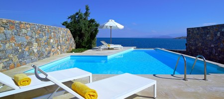 Villa Thalassa 3 Bedrooms Private Heated Pool - Seafront View